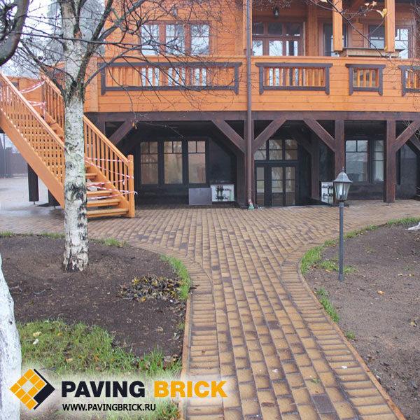 Клинкерная брусчатка Felhaus klinker (Германия) P248 Areno nero