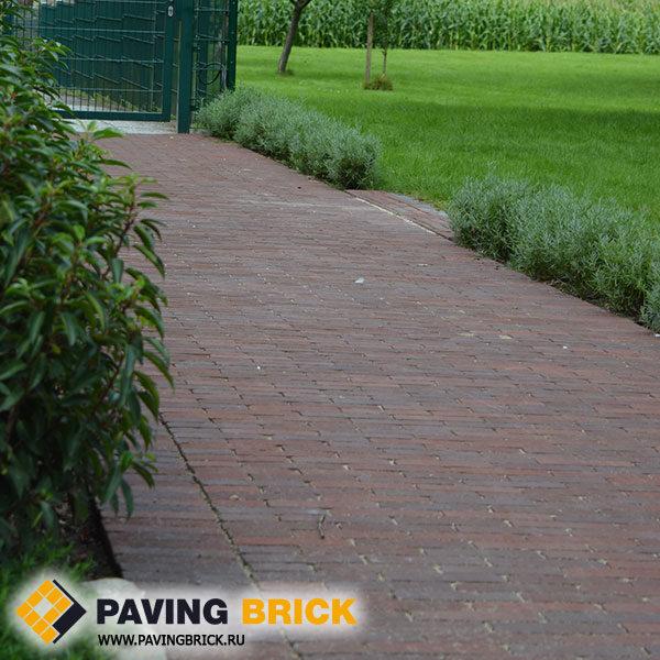 Клинкерная брусчатка Vandersanden (Голландия) Terra Novara antica rot braun bunt