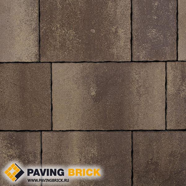 Тротуарная плитка ВЫБОР АНТАРА Б.1.АН6 Искусственный камень цвет Плитняк Вишневый