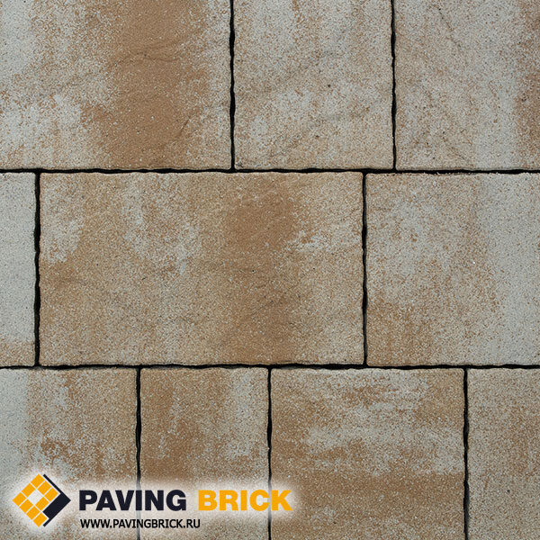 Тротуарная плитка ВЫБОР АНТАРА Б.1.АН6 Искусственный камень цвет Степняк - фото 1