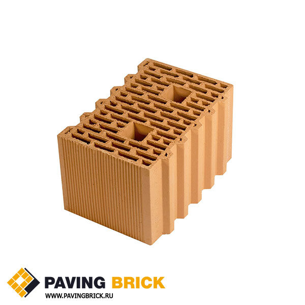Керамический поризованный блок Porotherm 38 Green Line M100 10,67 NF - фото 1