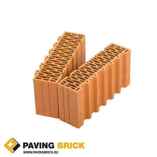 Керамический поризованный блок Porotherm 44 1/2 доборный элемент M100 12,35 NF - фото 1