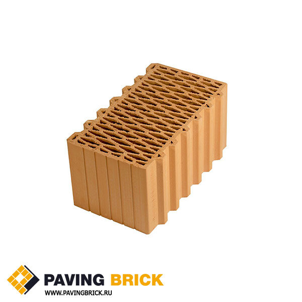 Керамический поризованный блок Porotherm 44 M100 12,35 NF - фото 1