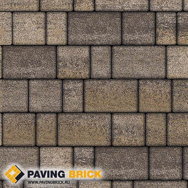 Тротуарная плитка ВЫБОР СТАРЫЙ ГОРОД Б.1.Ф.6 Искусственный камень цвет Доломит
