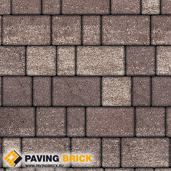 Тротуарная плитка ВЫБОР СТАРЫЙ ГОРОД Б.1.Ф.6 Искусственный камень цвет Плитняк