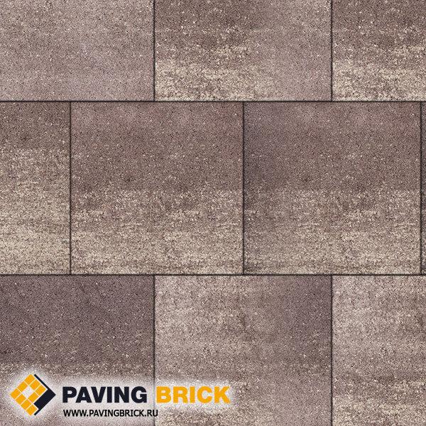 Тротуарная плитка ВЫБОР КВАДРУМ Б.5.К.6 Искусственный камень 500х500х60мм цвет Плитняк