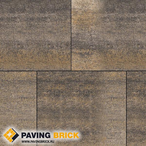 Тротуарная плитка ВЫБОР КВАДРУМ Б.7.К.8 Искусственный камень 600х600х80мм цвет Доломит