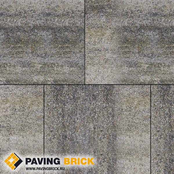 Тротуарная плитка ВЫБОР КВАДРУМ Б.7.К.8 Искусственный камень 600х600х80мм цвет Габбро