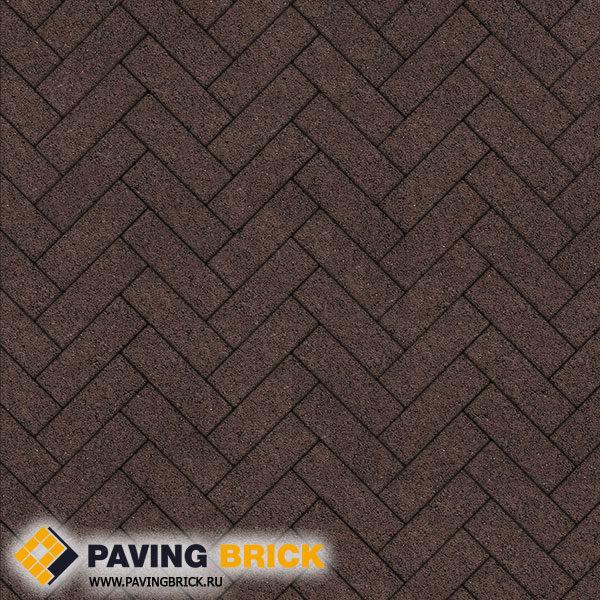 Тротуарная плитка ВЫБОР Паркет Б.4.П.6 Гранит 180х60х60мм цвет Коричневый