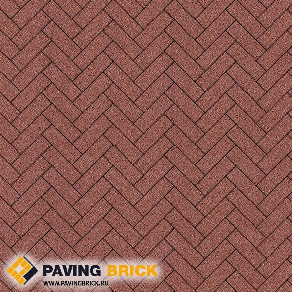 Тротуарная плитка ВЫБОР Паркет Б.4.П.6 Гранит 180х60х60мм цвет Красный