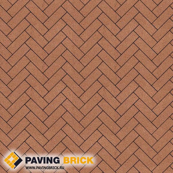 Тротуарная плитка ВЫБОР Паркет Б.4.П.6 Гранит 180х60х60мм цвет Оранжевый