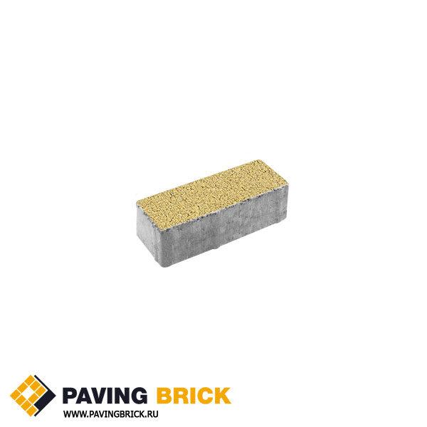 Тротуарная плитка ВЫБОР Паркет Б.4.П.6 Гранит 180х60х60мм цвет Желтый