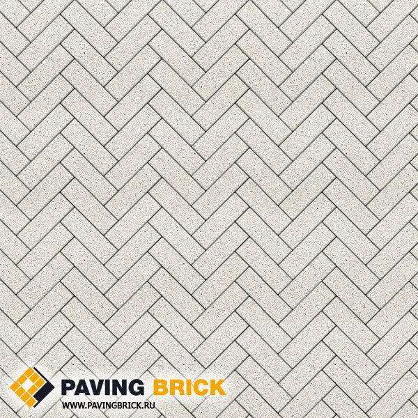 Тротуарная плитка ВЫБОР Паркет Б.4.П.6 Стандарт гладкий 180х60х60мм цвет Белый