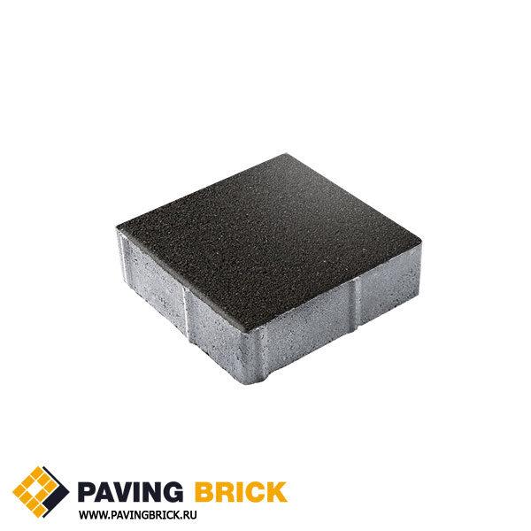 Тротуарная плитка ВЫБОР Ла Линия Б.1.К6 Гранит 300х300х60мм цвет Черный