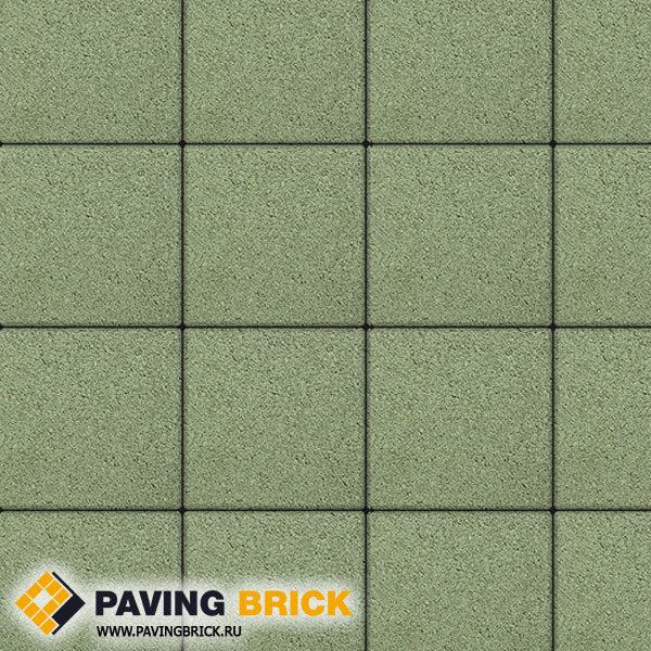 Тротуарная плитка ВЫБОР Ла Линия Б.1.К6 Гранит 300х300х60мм цвет Зеленый - фото 1
