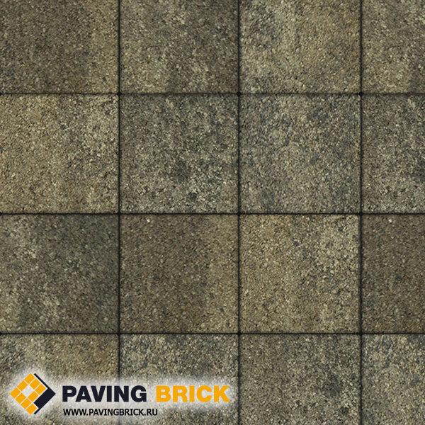 Тротуарная плитка ВЫБОР Ла Линия Б.1.К6 Листопад гранит 300х300х60мм цвет Старый замок