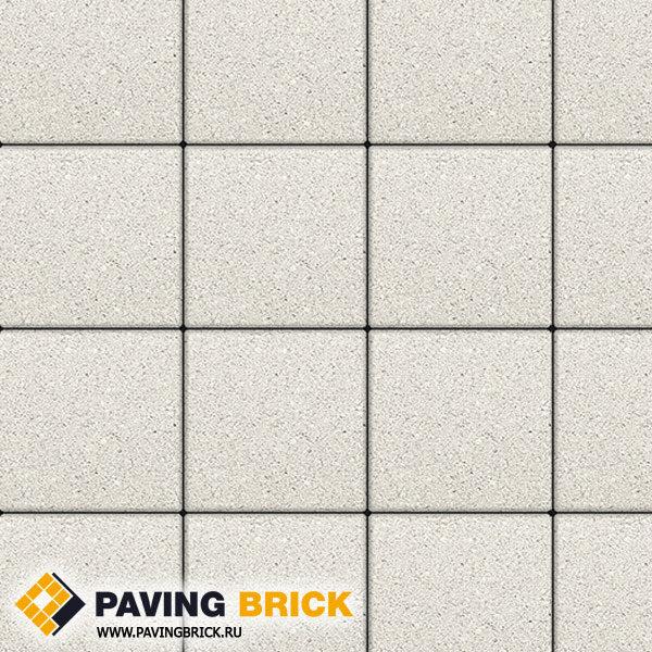 Тротуарная плитка ВЫБОР Ла Линия Б.1.К6 Стандарт 300х300х60мм цвет Белый - фото 1