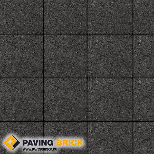 Тротуарная плитка ВЫБОР Ла Линия Б.1.К6 Стандарт 300х300х60мм цвет Черный - фото 1