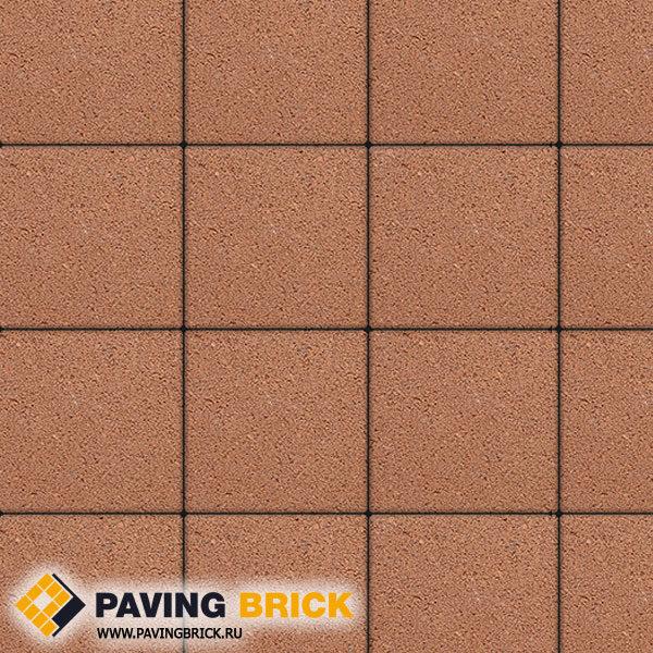 Тротуарная плитка ВЫБОР Ла Линия Б.1.К6 Стандарт 300х300х60мм цвет Оранжевый - фото 1