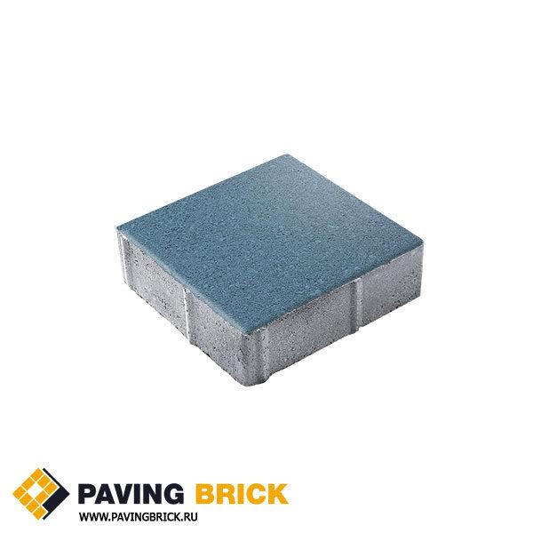 Тротуарная плитка ВЫБОР Ла Линия Б.1.К6 Стандарт 300х300х60мм цвет Синий