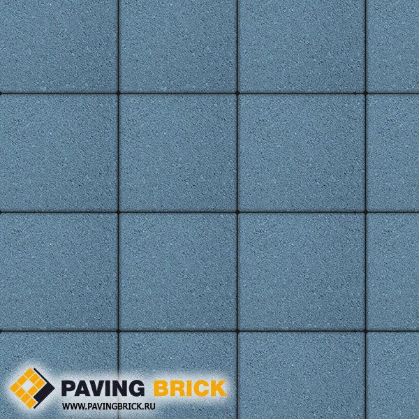 Тротуарная плитка ВЫБОР Ла Линия Б.1.К6 Стандарт 300х300х60мм цвет Синий - фото 1
