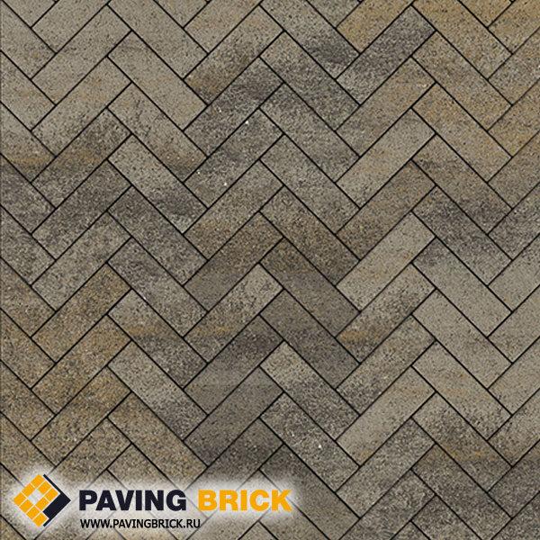 Тротуарная плитка ВЫБОР Паркет Б.4.П.6 Искусственный камень 180х60х60мм цвет Базальт