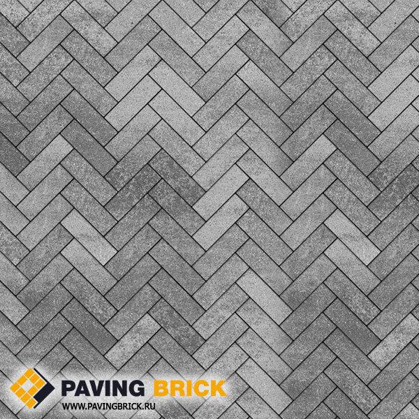 Тротуарная плитка ВЫБОР Паркет Б.4.П.6 Искусственный камень 180х60х60мм цвет Шунгит