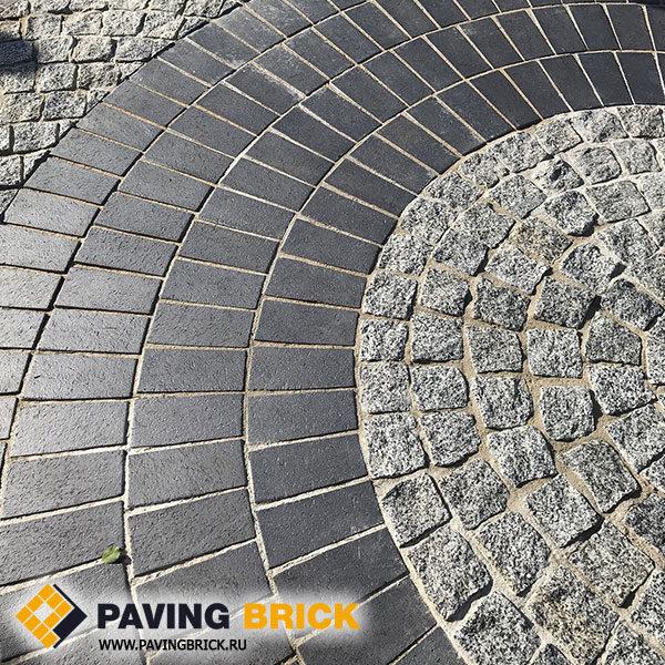 Гранитная брусчатка Покостовская колотая 100х100х50мм - фото 1