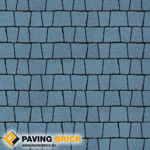 Тротуарная плитка ВЫБОР АНТИК Б.3.А.6 Гранит комплект из 5 форматов цвет Синий - фото 1