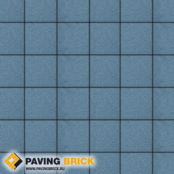 Тротуарная плитка ВЫБОР Ла Линия А.2.К.4 Стандарт гладкий 200х200х40мм цвет Синий - фото 1