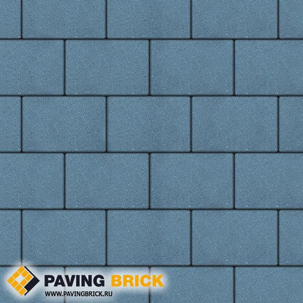 Тротуарная плитка ВЫБОР Ла Линия Б.1.П.8 Гранит 300х200х80мм цвет Синий - фото 1