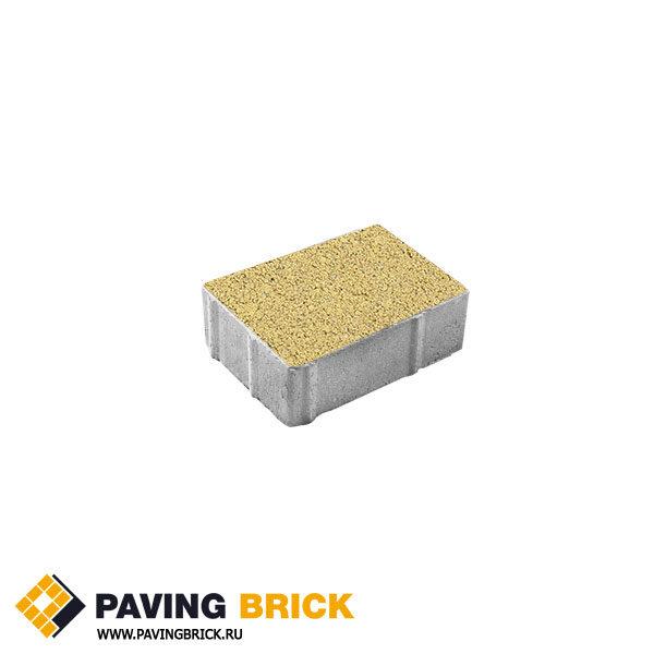 Тротуарная плитка ВЫБОР Ла Линия Б.1.П.8 Гранит 300х200х80мм цвет Желтый - фото 1