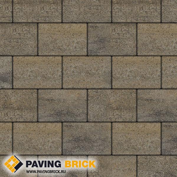 Тротуарная плитка ВЫБОР Ла Линия Б.1.П.8 Искусственный камень 300х200х80мм цвет Базальт - фото 1