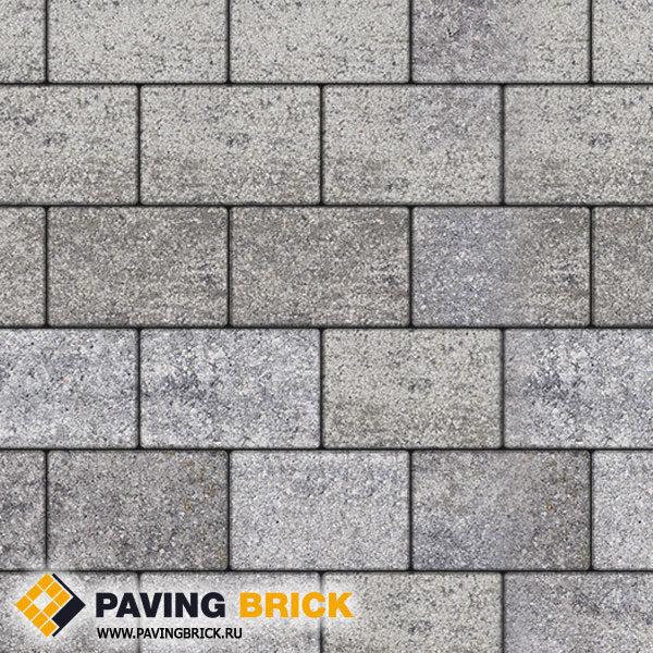Тротуарная плитка ВЫБОР Ла Линия Б.1.П.8 Искусственный камень 300х200х80мм цвет Шунгит - фото 1