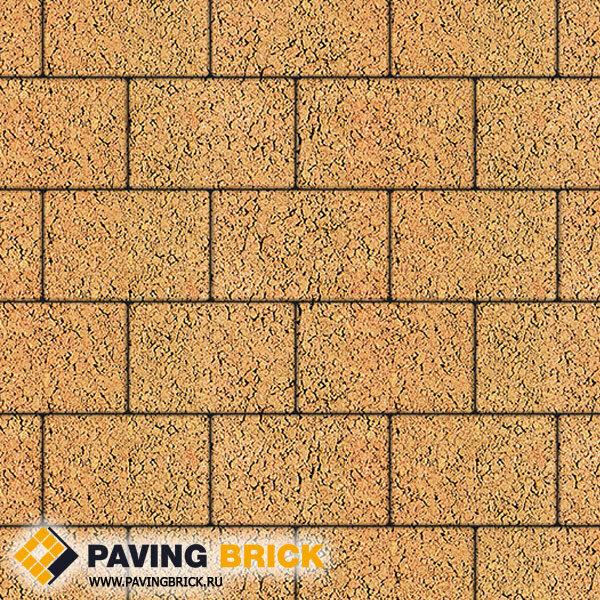 Тротуарная плитка ВЫБОР Ла Линия Б.1.П.8 Листопад гранит 300х200х80мм цвет Сахара - фото 1