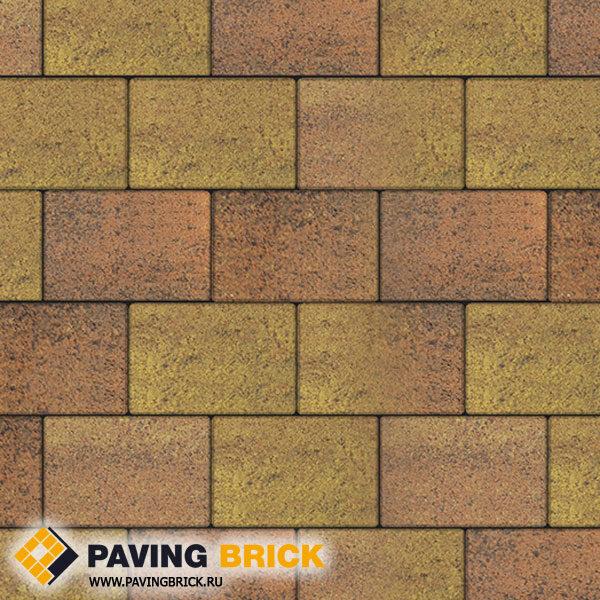 Тротуарная плитка ВЫБОР Ла Линия Б.1.П.8 Листопад гранит 300х200х80мм цвет Савана - фото 1