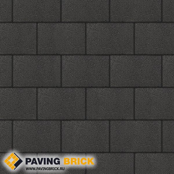 Тротуарная плитка ВЫБОР Ла Линия Б.1.П.8 Стандарт гладкий 300х200х80мм цвет Черный - фото 1