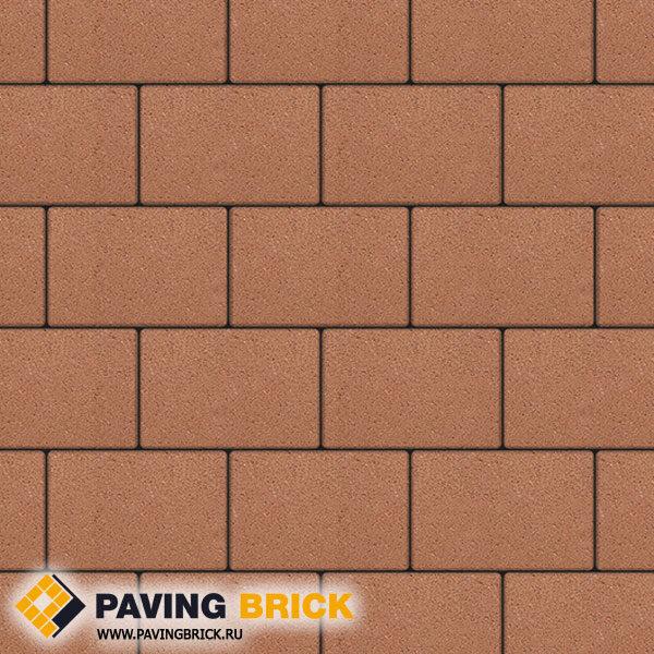 Тротуарная плитка ВЫБОР Ла Линия Б.1.П.8 Стандарт гладкий 300х200х80мм цвет Оранжевый - фото 1