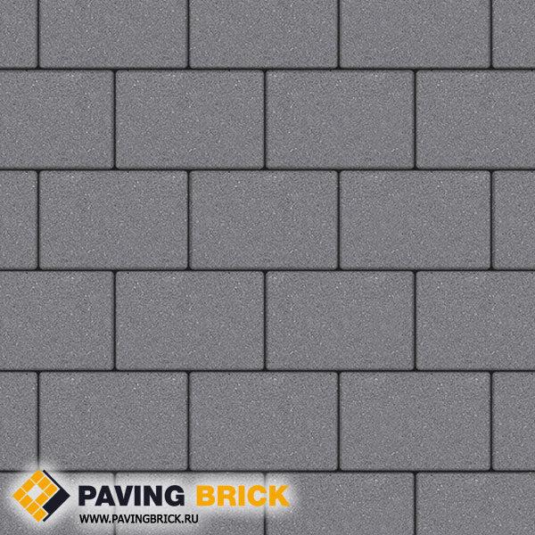 Тротуарная плитка ВЫБОР Ла Линия Б.1.П.8 Стандарт гладкий 300х200х80мм цвет Серый - фото 1
