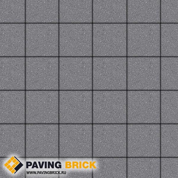 Тротуарная плитка ВЫБОР Ла Линия Б.2.К.6 Гранит 200х200х60мм цвет Серый - фото 1