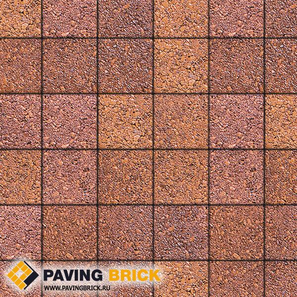 Тротуарная плитка ВЫБОР Ла Линия Б.2.К.6 Листопад гранит 200х200х60мм цвет Барселона - фото 1