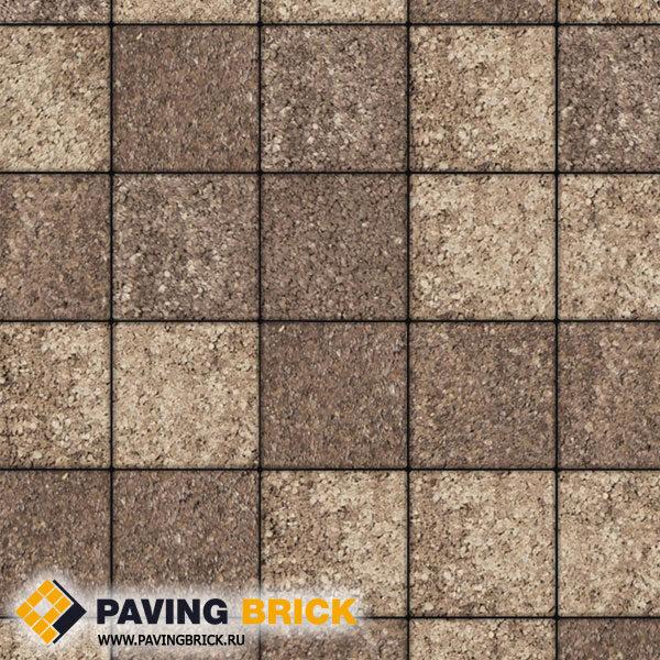 Тротуарная плитка ВЫБОР Ла Линия Б.2.К.6 Листопад гранит 200х200х60мм цвет Хаски - фото 1