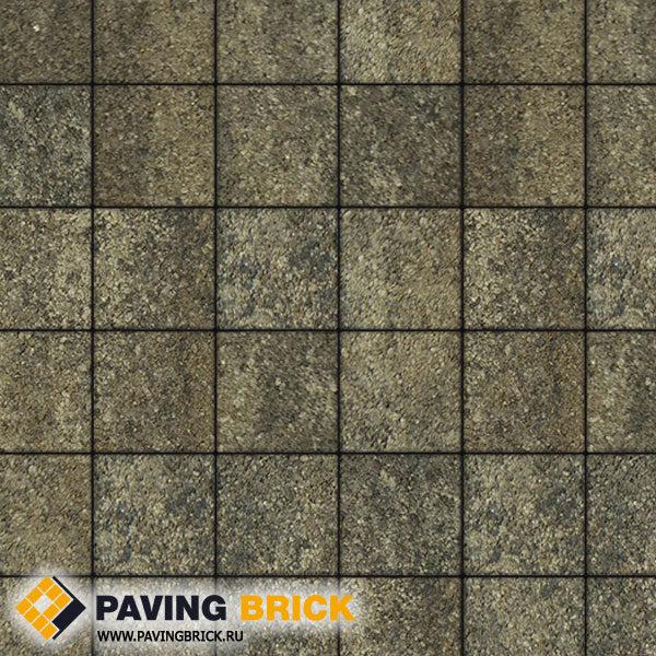 Тротуарная плитка ВЫБОР Ла Линия Б.2.К.6 Листопад гранит 200х200х60мм цвет Старый замок - фото 1