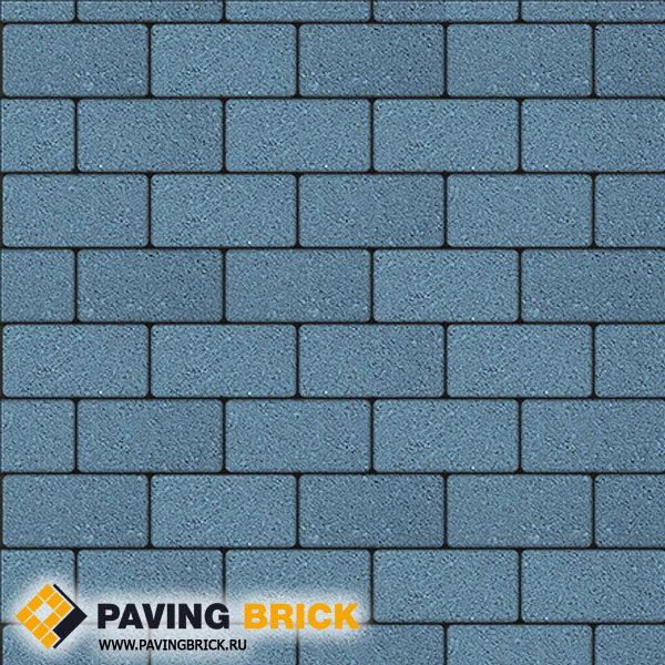 Тротуарная плитка ВЫБОР Ла Линия Б.2.П.6 Стандарт гладкий 200х100х60мм цвет Синий - фото 1