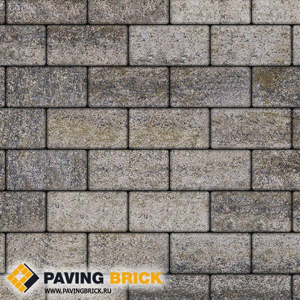 Тротуарная плитка ВЫБОР Ла Линия Б.3.П.6 Искусственный камень 240х120х60мм цвет Габбро - фото 1