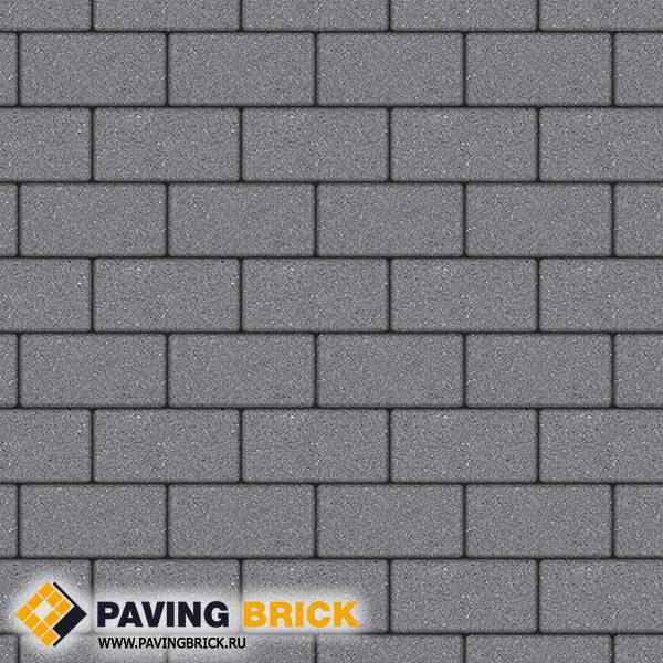 Тротуарная плитка ВЫБОР Ла Линия Б.3.П.6 Стандарт гладкий 240х120х60мм цвет Серый - фото 1