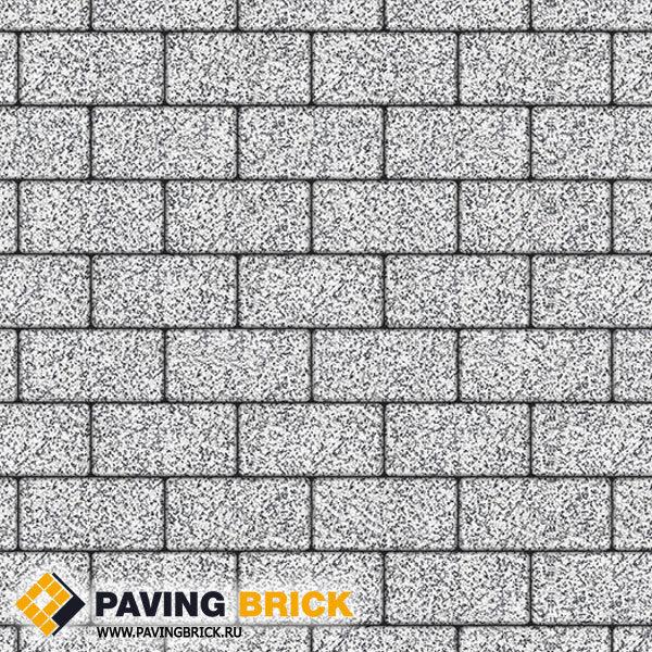 Тротуарная плитка ВЫБОР Ла Линия Б.3.П.6 Стоунмикс 240х120х60мм цвет Бело черный - фото 1