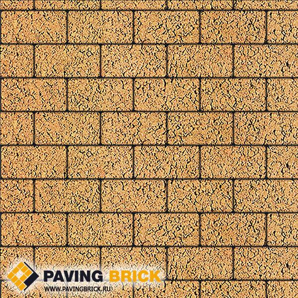 Тротуарная плитка ВЫБОР Ла Линия Б.2.П.8 Листопад гладкий 200х100х80мм цвет Сахара - фото 1