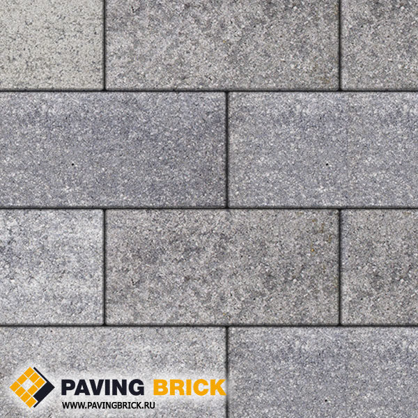 Тротуарная плитка ВЫБОР Ла Линия Б.5.П.8 Искусственный камень 600х300х80мм цвет Шунгит - фото 1