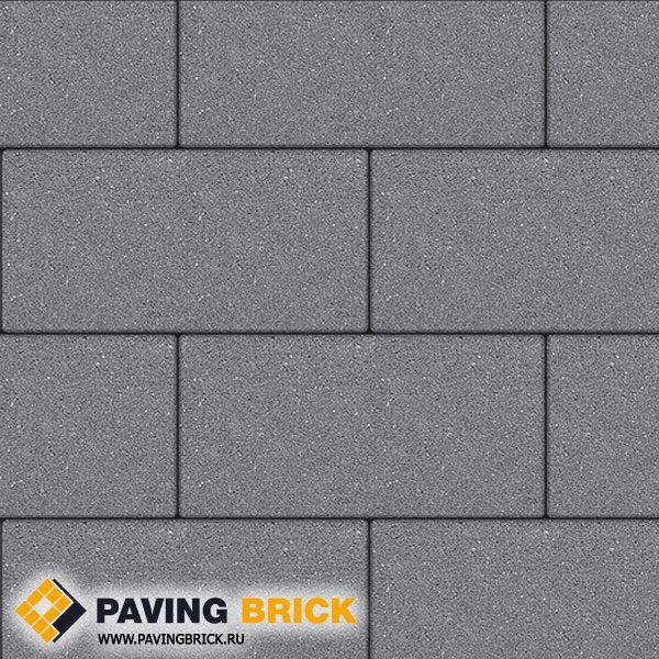Тротуарная плитка ВЫБОР Ла Линия Б.5.П.8 Стандарт гладкий 600х300х80мм цвет Серый - фото 1